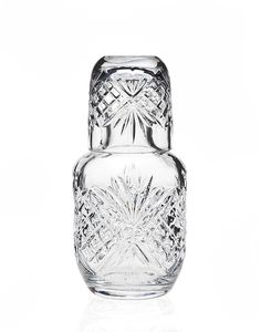 Amazon.com: Dublin Crystal Bedside Night Carafe With Tumbler Glass: Kitchen & Dining