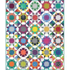 Zen Garden Quilt Kit featuring Splendor by Amy Butler Curved ... : amy butler quilt kits - Adamdwight.com