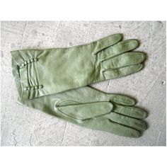 1940s leather gloves / Bently gloves / by StardustVintagestore