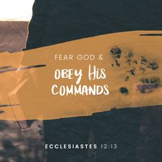 #rachvidoutreach @prophetofluv @rachypride   13 Let us hear the conclusion of the whole matter: Fear God and keep His commandments, For this is man's all. (‭Ecclesiastes‬ ‭12‬:‭13‬ NKJV)