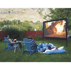 Camp Chef 120-Inch Portable Outdoor Movie Theate... : Target Mobile.... Terry would die to have this. .. he would be the envy of cigar night