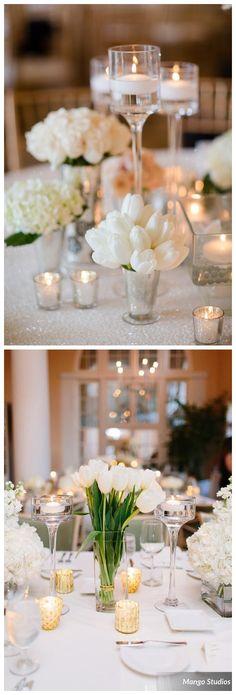 White Tulip Wedding Ideas for Spring Weddings #weddings #weddingideas #weddinginspiration