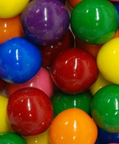 Color Inspiration ~ vivid & shining colorful gum balls