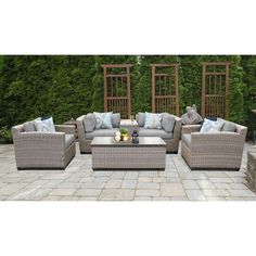 "Excellent ""fire pit furniture seating areas"" info is offered on our site. Read more and you will not be sorry you did. Outdoor Wicker Patio Furniture, Simple Furniture, Patio Furniture Sets, Outdoor Decor, Outdoor Seating, Furniture Layout, Kids Furniture, Furniture Makeover, Outdoor Sofas"