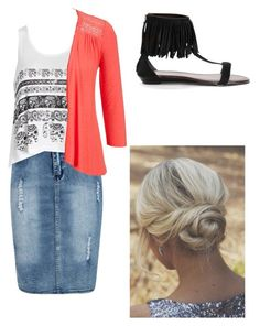 """Untitled #152"" by robindavis-1 ❤ liked on Polyvore featuring Boohoo, Ally Fashion and maurices"