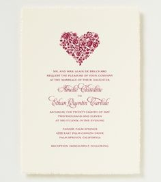 Ava Wedding Invitation   Floral Wedding Invitation Blue Writing And  Purple/pink Flowers In The