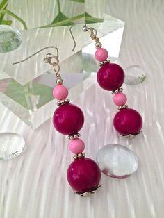 Fuscia & Pink Earring $16.00 on mjcali1048@hotmail.com