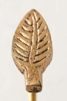 Metal Leaf Knob