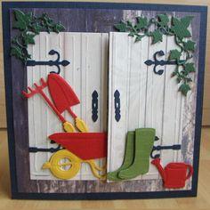 Kaartengalerij - Marianne Design Masculine Birthday Cards, Birthday Cards For Men, Handmade Birthday Cards, Masculine Cards, 3d Cards, Paper Cards, Cute Cards, Stampin Up Cards, Fancy Fold Cards