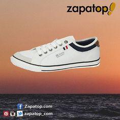 Disfruta este #verano con #zapatillas de lona marca #xti. Perfectas para cualquier temporada, quedan muy bien con pantalón corto Ref: 12086 a 25,95€ en zapatop.com 👟👟 #calzado #deportivos #zapatillas #deportivocasual #zapatoshombres #hechoenespaña #casual #zapatillasonline #zapatillasparatodos #ventazapatillas #zapatillashombre #comprarzapatillas #zapatillasoferta #zapatos #deportivasonline #zapatosonline #hechoenespaña #españa #zapatos #calzadoespañol #zapatoverano #verano2016 #modaverano Vans Authentic, Photo And Video, Sneakers, Shoes, Instagram, Fashion, Summer 2016, Shorts, Short Shorts