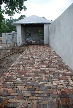 old brick surface