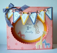 UK Independent Stampin' Up! Demonstrator - Julie Kettlewell: Happy Birthday Miss Mollie