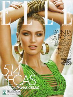 This green top is to die for <3  Candice Swanepoel for Elle Brazil September 2012
