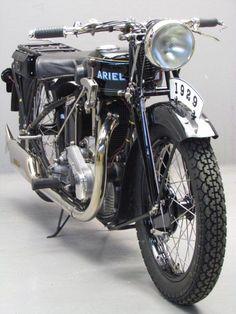 Ariel 1929 Model F 500cc