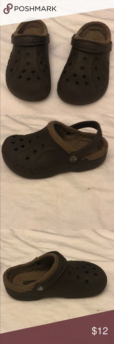 NWT CROCS BAYA LINED KIDS BROWN BLUE PINK PURPLE 6//7 8//9 10//11 12//13 CLOGS shoes