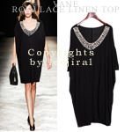 Today's Hot Pick :Beaded Neckline Dress http://fashionstylep.com/SFSELFAA0005542/dalphinsen1/out High quality Korean fashion direct from our design studio in South Korea! We offer competitive pricing and guaranteed quality products. If you have any questions about sizing feel free to contact us any time and we can provide detailed measurements.