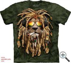 Lion Shirt Rasta Smokin' Jahman T-shirt Tie Dye Green Adult Tee Wildlife Shirts Animal T-Shirts Tee Lion Shirt Rasta Smokin' Jahman T-shirt Tie Dye Tumblr Tee, Hoodie Allen, Smoking, Rasta Lion, Lion Shirt, Polo Shirt, Big Face, 3d T Shirts, Party Shirts