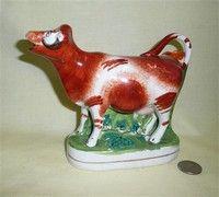 Staffordshire - Craig's Cow Creamer