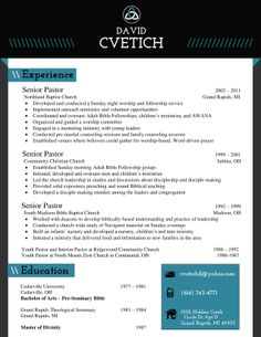 my resume design for a churchministry position buy the template for just 15