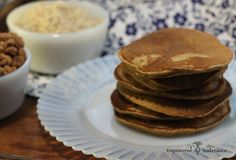 Learn how to use tigernut flour, an ancient superfood tuber, and try these grain free Tigernut Flour Pancakes.