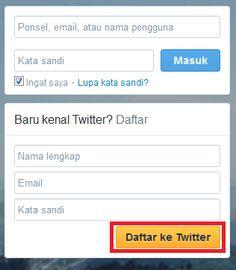 daftar akun twitter