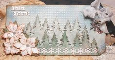 tim holtz on the edge snowflake die - Google Search
