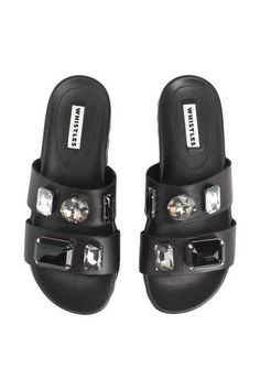 A Summer Sandal That Will Be a Hit Next Year Too: Whistles Maddy Jewelled Poolside Sandals at Whistles