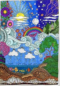 Amazon.com: Creative Haven Insanely Intricate Entangled Landscapes Coloring Book (Adult Coloring) (9780486806983): Dr. Angela Porter: Books
