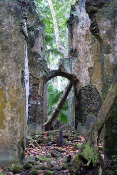 Church ruin in Sao Tome and Principe. Photo by João Pedro Pio