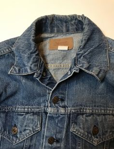 Piece Of Clothing, Used Clothing, S Williams, Levi Denim Jacket, Modern Outfits, Levis, Type 3, 1960s, Jackets For Women