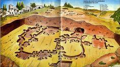 Kaymakli Underground City in Turkey. Ancient place.