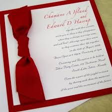 red and white wedding invites - Google Search