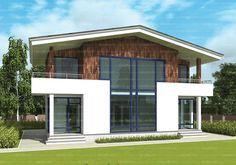 Проект двухэтажного четырехкомнатного дома 157,7 кв.м. из SIP панелей