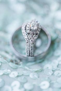Make sure you take these photos on your wedding day to show off your rings!