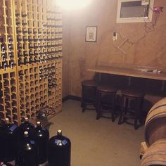 Incredible wine room staying cool with the #coolbot #coolbotcooler #coolbotwine