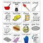 A baker's themed vocabulary words chart for your writing station or display. 16 pictures of baking related words with labels.  Aimed to develop you...