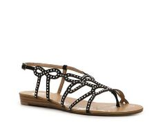 Yellow Box Eira Flat Sandal | DSW