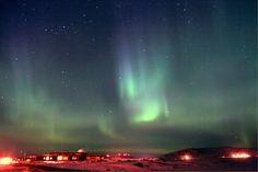 "North to Alaska  Credit: John Dean John Dean, of Nome, Alaska took this photo on Apr. 5, 2010. ""Lots of rayed bands, arcs, curtains.… "" he said."