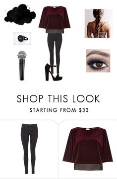 """""""C.F"""" by halfofourheart ❤ liked on Polyvore featuring Maison Scotch and River Island"""