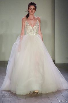 New York Bridal Fashion Week October 2015 Part 3 — JLM Press Show: Hayley Paige, Salt and Honey, Jim Hjelm, Alvina Valenta, Lazaro | Wedding Inspirasi