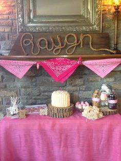 Vintage cowgirl birthday party first birthday party cowgirl party little girl birthday rustic