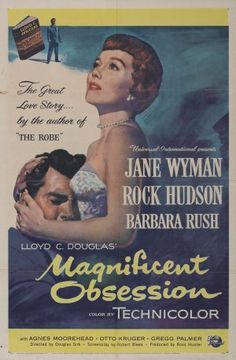 Magnificent Obsession movie poster