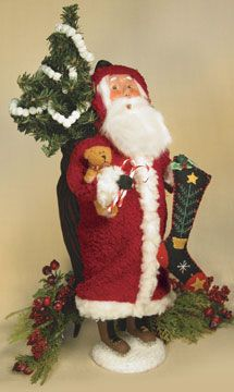 Christmas Festival Folk Art Santa, 2007