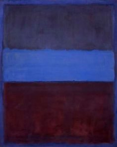 Number 61, 1953 by Mark Rothko