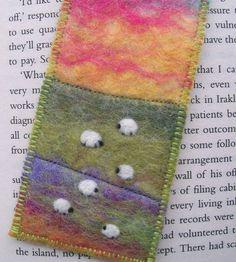 Like this bookmarke cute sheep