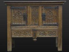 French Gothic dressoir, circa 1460 - 1480, Marhamchurch antiques