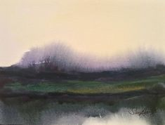 Buy Semley Common, Watercolour by Samantha Adams professional watercolour artist. on Artfinder. Discover thousands of other original paintings, prints, sculptures and photography from independent artists. Watercolor Artists, Watercolor Landscape, Abstract Watercolor, Abstract Landscape, Landscape Paintings, Beautiful Landscape Photography, Beautiful Landscapes, Urban Landscape, Landscape Design