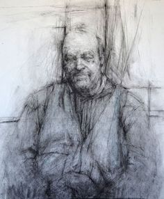 Ginny Grayson   BT, 2010. Charcoal and Pencil on paper, 100 cm x 90 cm