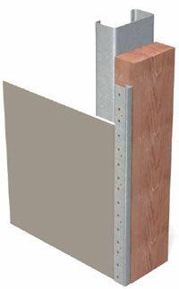 Metal U-Trim #200-A (M20A) | ClarkDietrich Building Systems Building Systems, Metal Trim, Dog Travel, Beams, Concrete, Exposed Beams