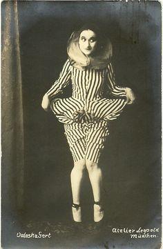 theatre circus dance performer extraordinaire Valeska Gert